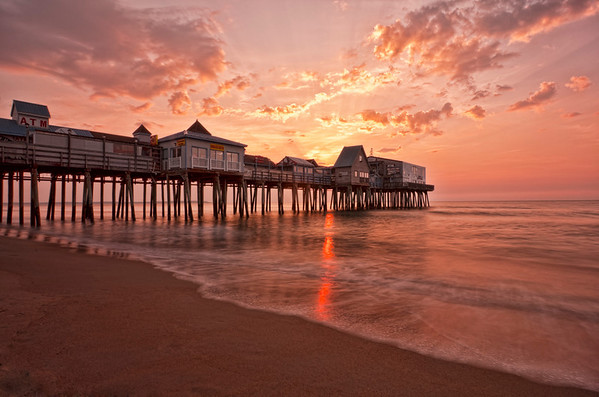March Sunrise at Old Orchard Beach, Maine 6276