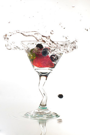 A Berry Good Martini!
